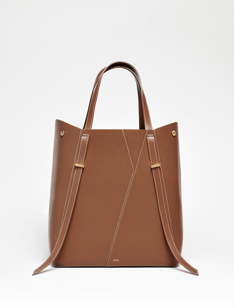 AYO TOTE Medium Tan