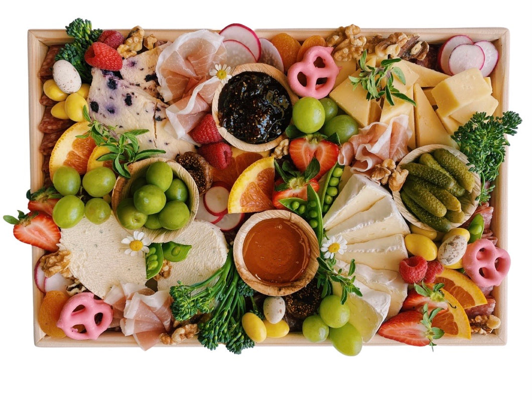 Easter Cheese & Charcuterie Board