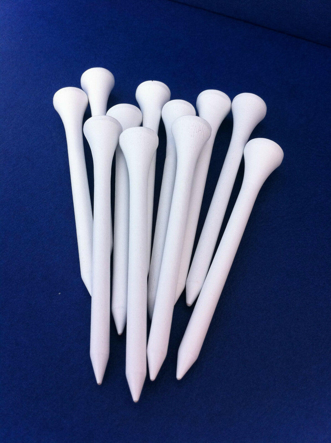 JL Golf White Wooden Golf Tees 54mm (2.1