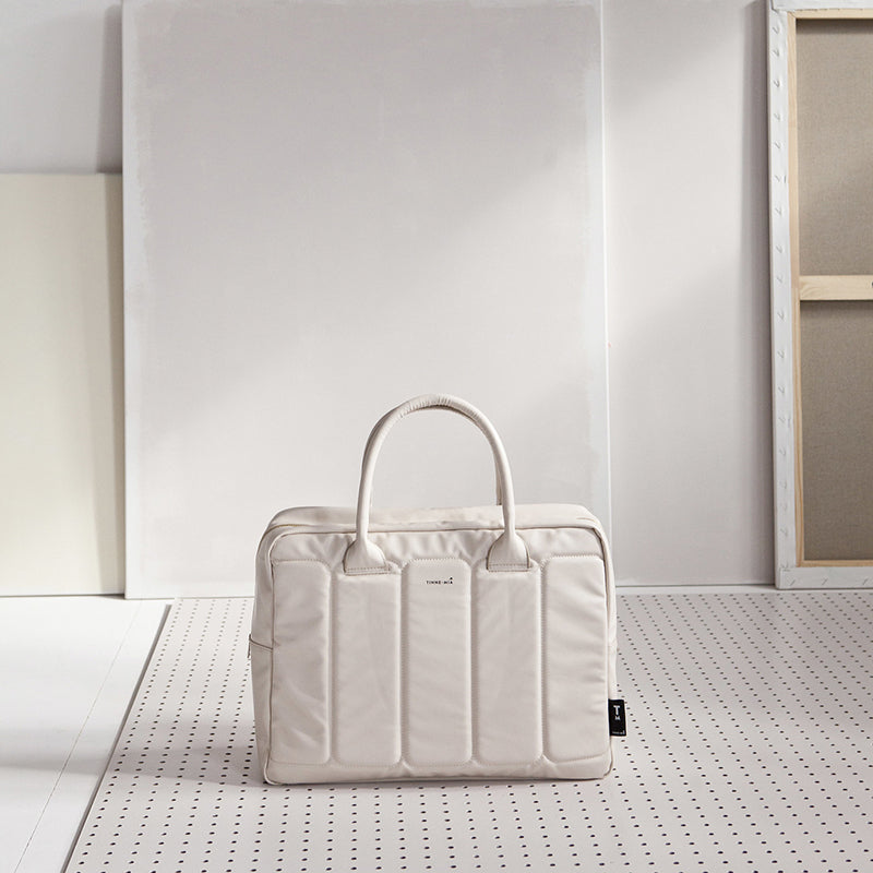 Tinne + Mia Laptoptasche off white