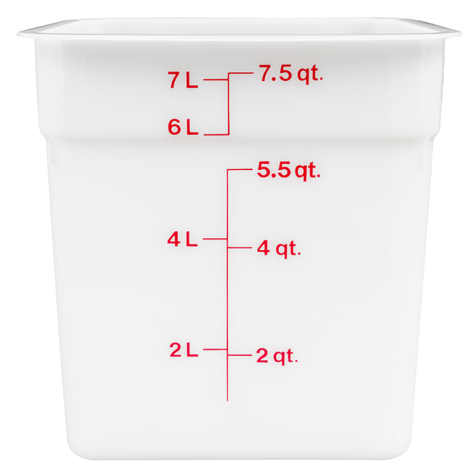 CAMSQUARE FOOD CONTAINER 8QT