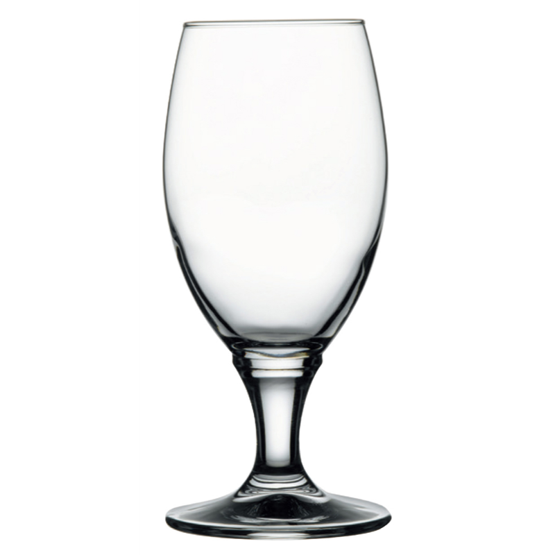 13oz. STEM BEER GLASS 12/CS CHEERS BEER