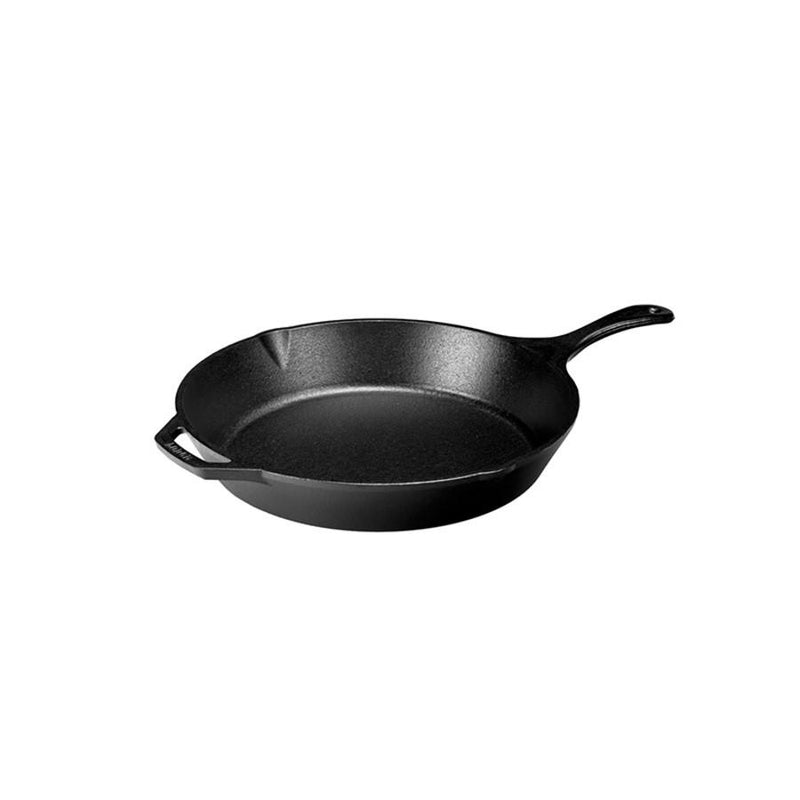 "CAST IRON SKILLET 13.25"" LODGE LOGIC COUNSELTRON"