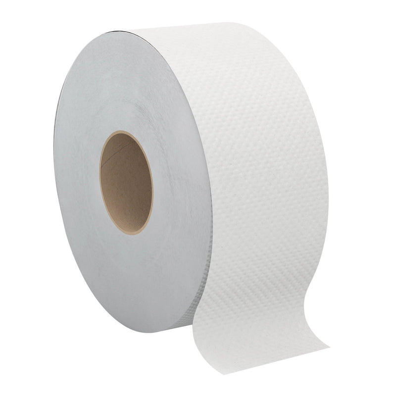 "JRT TOILET TISSUE 2ply 8X750'/CS 3.3"" CORE CASCADES"