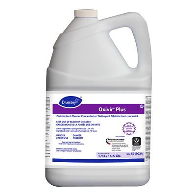 OXIVIR PLUS DISINFECTANT CLEANER 4X3.8L. DIVERSEY