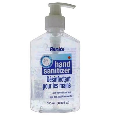 CLEAR GEL HAND SANITIZER 48X315mil. 73% PANITA