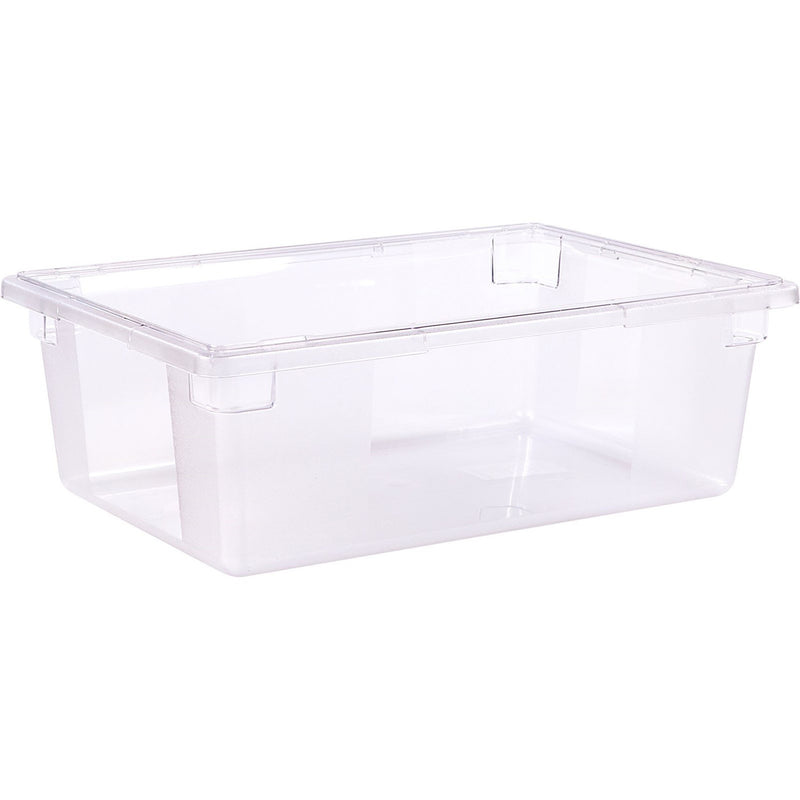 12.5gl. FOOD STORAGE BOX 4/CS CLEAR POLY 26X18X9