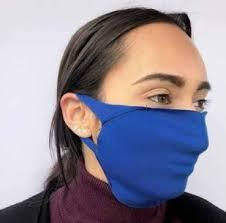 2 ply medium reusable waiting room mask 5/pk