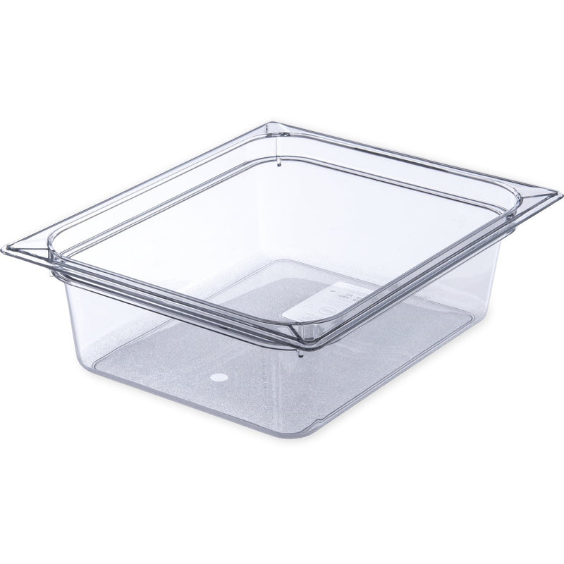 "1/2X4"" POLY FOOD PAN 6 PER CASE"
