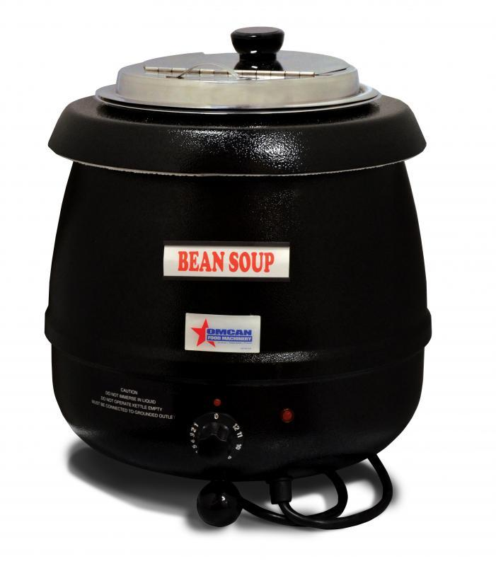 SOUP WARMER KETTLE 10qt 110V BLACK OMCMAN