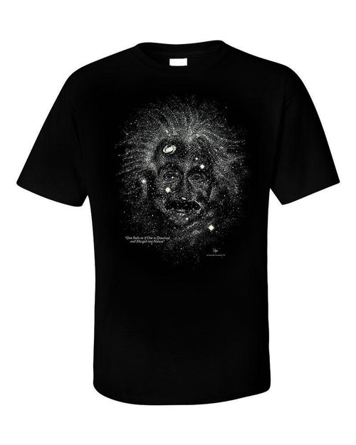 Glow-in-the-Dark Starry Night Einstein Tee