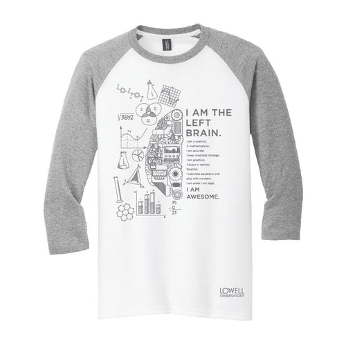 Left Brain Mens Tee