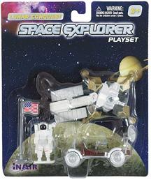 Lunar Lander with Moon Rover 5 Piece Playset