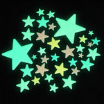 Glow-in-the-Dark Colorful Stars