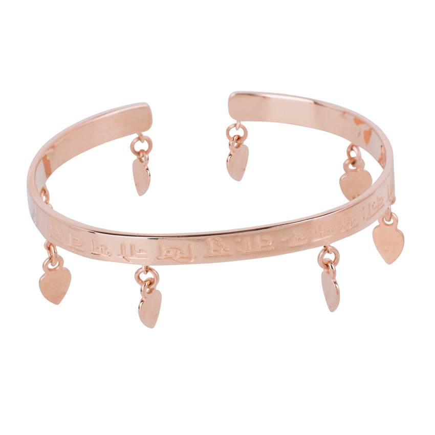 Mantra Bangle Indien Tears, Rosé
