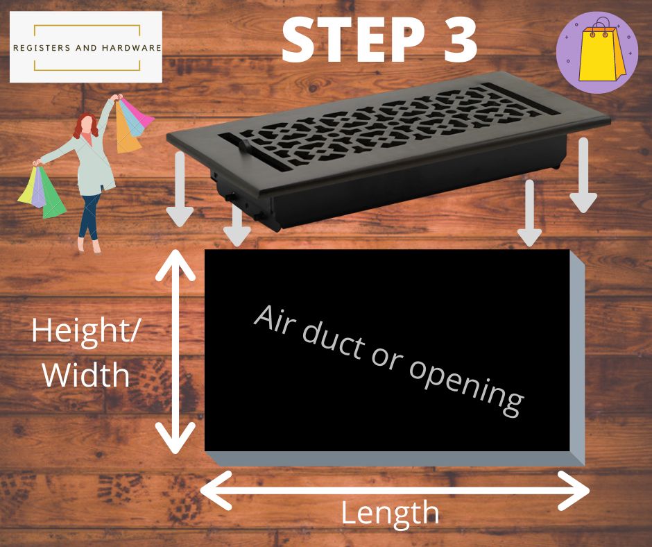 Vent covers unlimited dimensions how to install floor registers grill