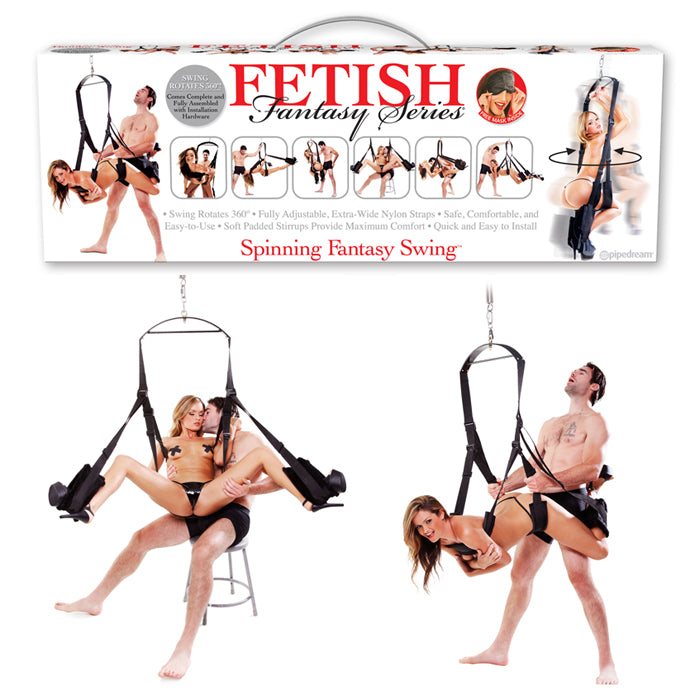 Pipedream Products Fetish Fantasy Spinning Fantasy Swing - A Little More Interesting