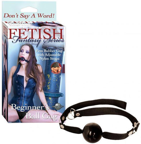 Pipedream Products Fetish Fantasy Beginners Ball Gag - A Little More Interesting