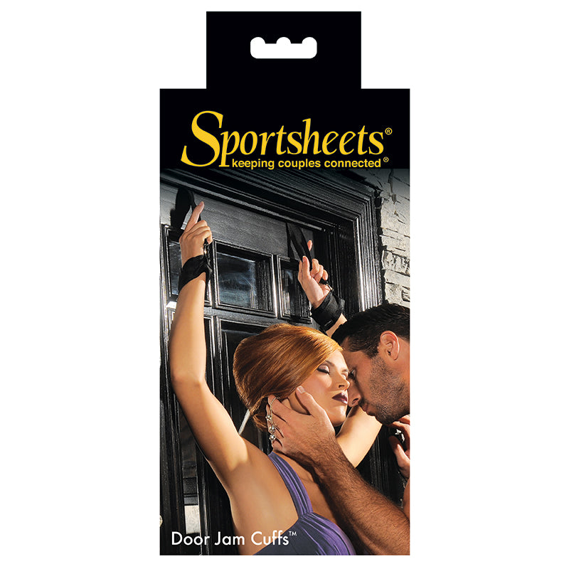 Sportsheets Door Jam Cuffs - A Little More Interesting