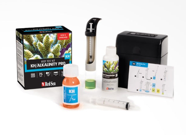 RED SEA KHALKALINITY PRO HIGH TITRATION TEST KIT