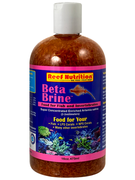 REEF NURTITION BETA BRINE 6OZ