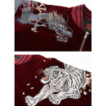 Four Legendary Beasts Embroidery Bomber Jacket - 5 ELEMENTS
