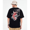 Cherry Blossom Koi T-shirt - 5 ELEMENTS