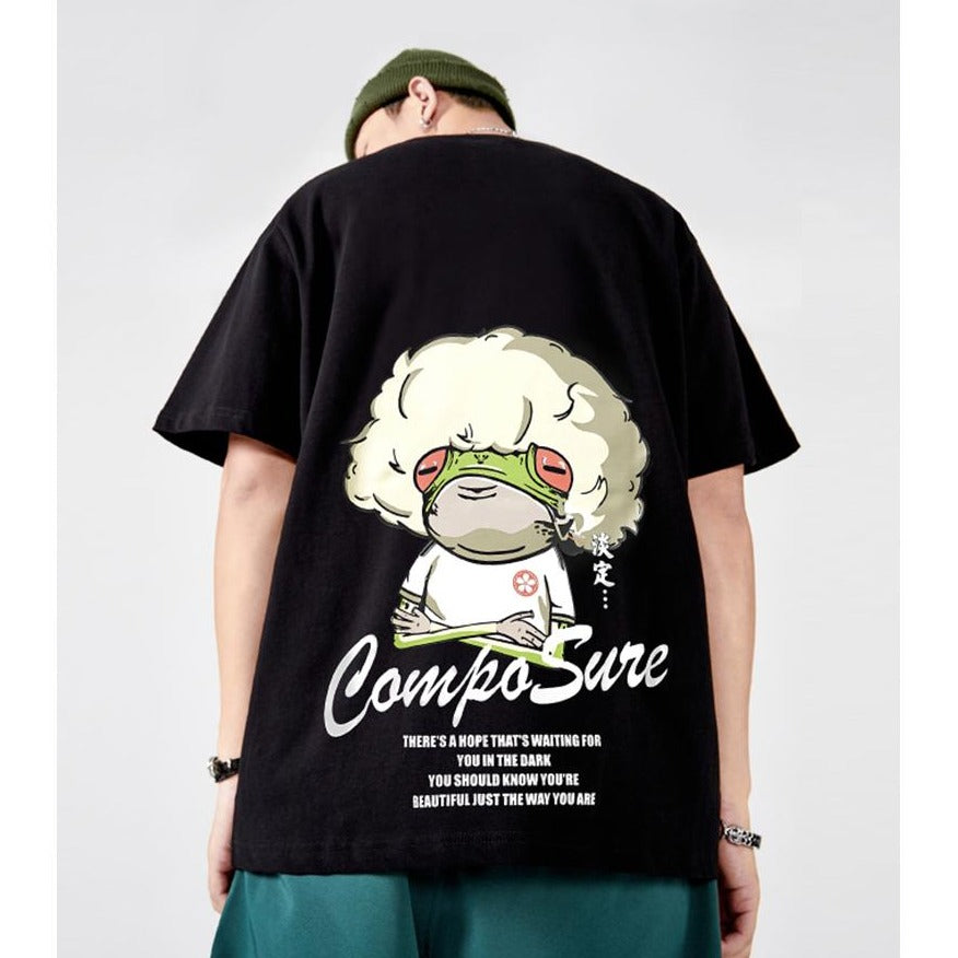Composed Frog T-shirt - 5 ELEMENTS