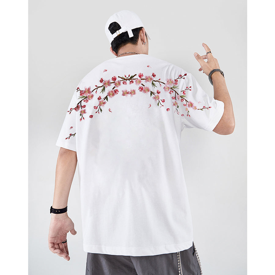 Plum Blossom T-shirt - 5 ELEMENTS