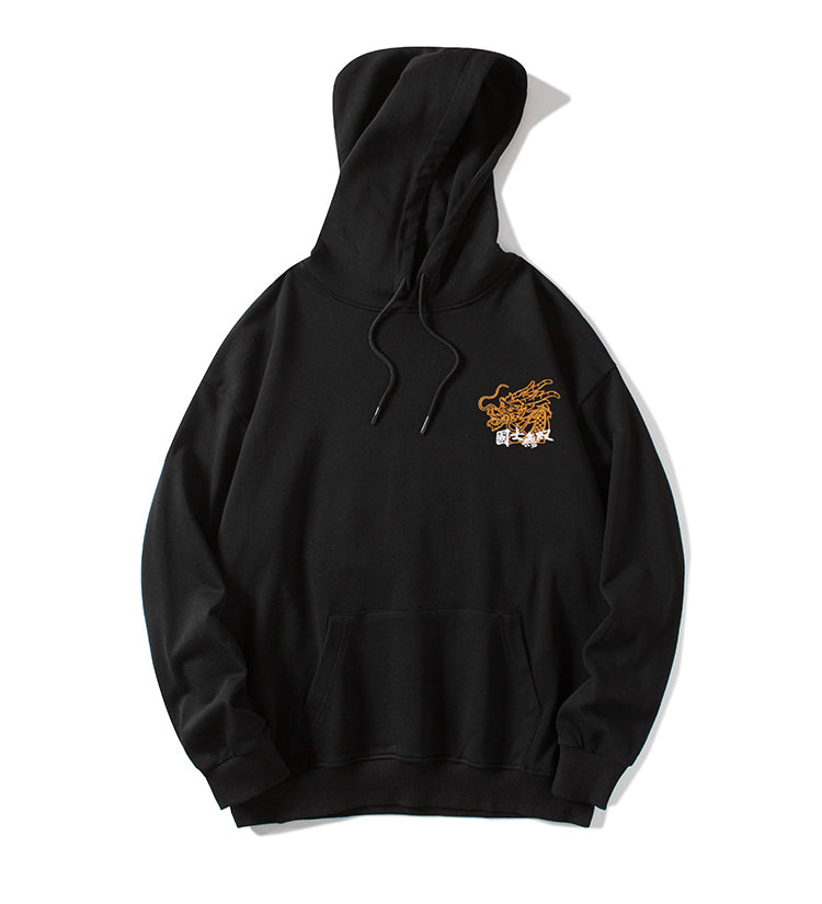 State Elite Has No Equal Embroidery Hoodie - 5 ELEMENTS