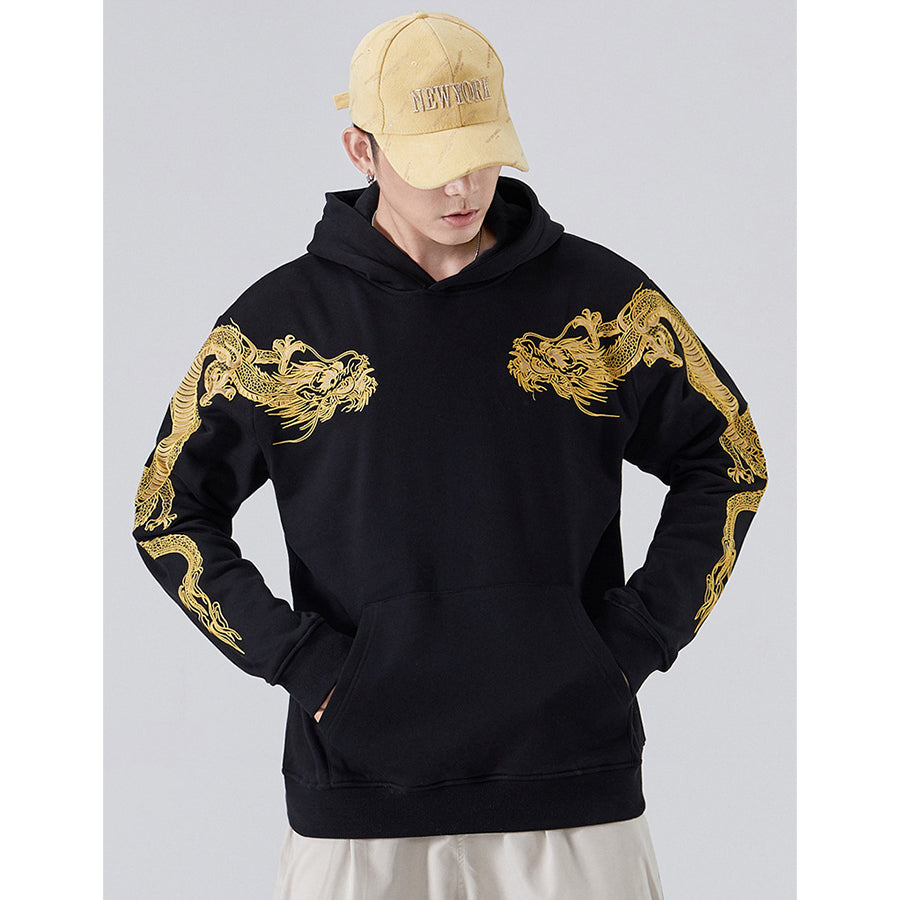 Flying Dragons Hoodie - 5 ELEMENTS