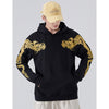 Flying Dragons Embroidery Hoodie - 5 ELEMENTS