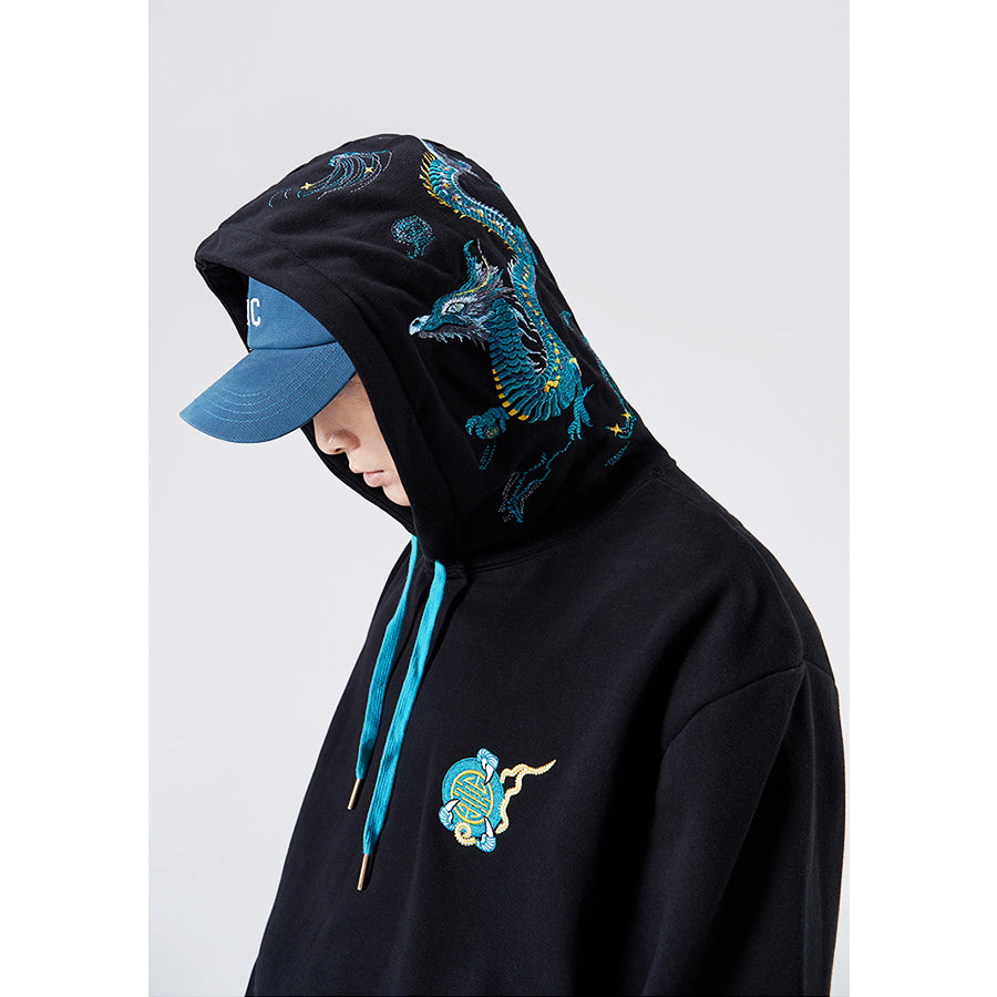 Azure Dragon Hoodie - 5 ELEMENTS