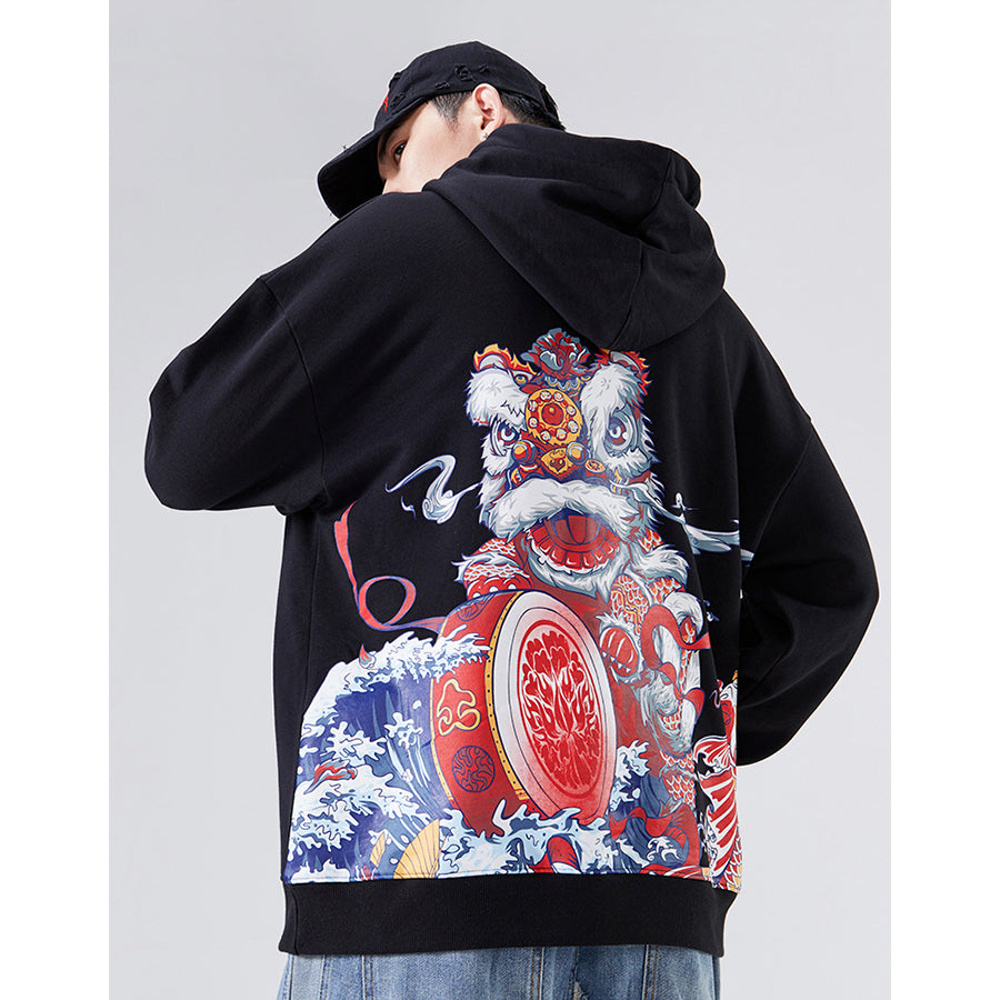 Lion Dance Hoodie - 5 ELEMENTS