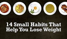 14 Small Habits That Will Help You Lose Weight