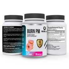 Load image into Gallery viewer, Burn PM - Appetite Suppressant - CRUSH CRAVINGS, DECREASE YOUR APPETITE AND NATURALLY BURN FAT - FREE SHIPPING