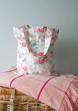 Load image into Gallery viewer, Cotton Tote Bag Handmade with Vintage Cath Kidston Fabric