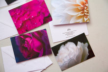 Load image into Gallery viewer, Greeting Card Multipack in Rose, Dahlia and Hydrangea Prints