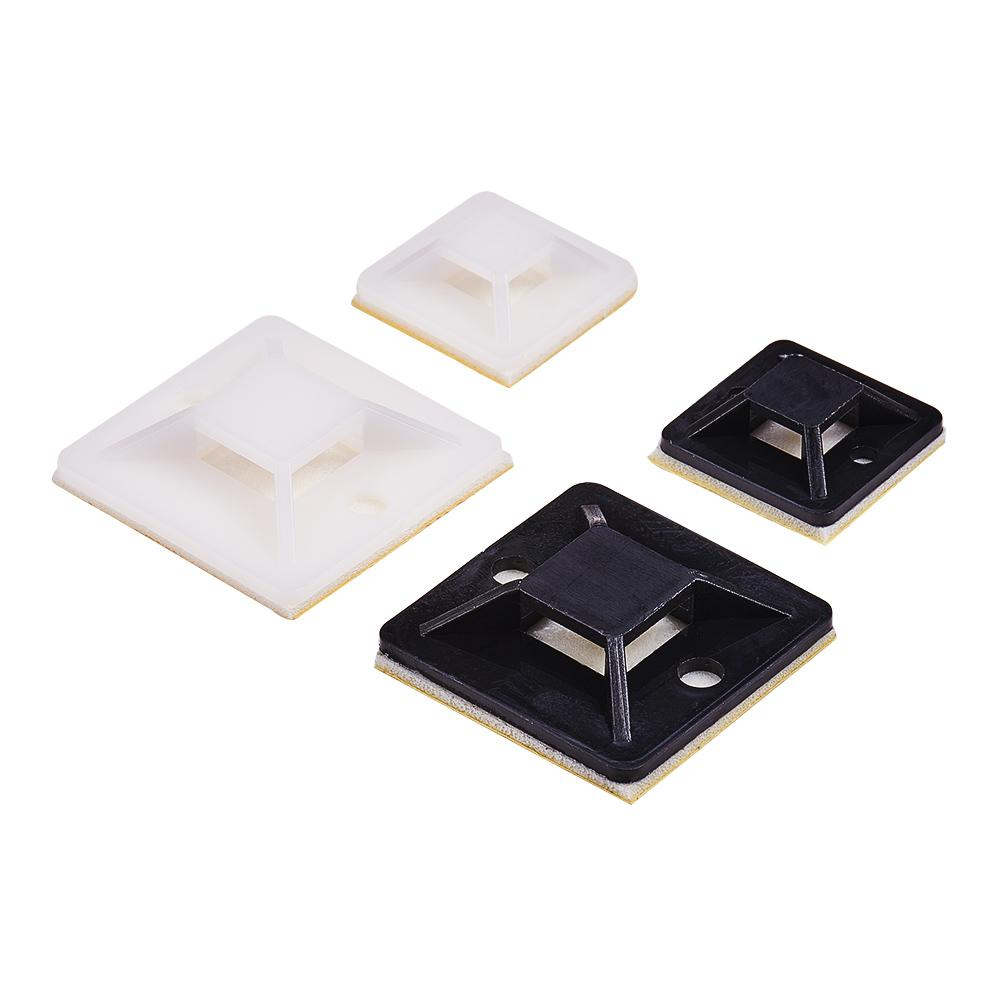 300 Pieces Adhesive Cable Tie Mounts-INC-HW13-179