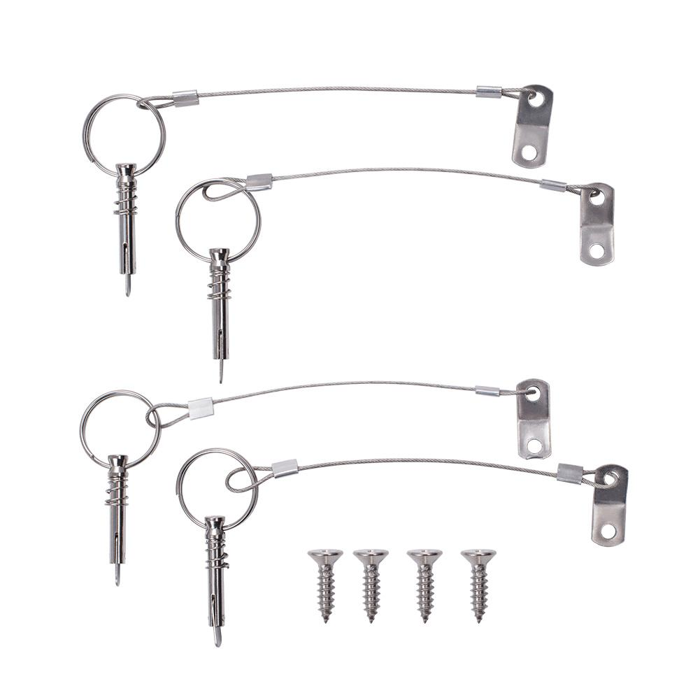 6 Pack Quick Release Pin 1/4-INCh Diameter-INC-HW18-077