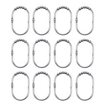 Load image into Gallery viewer, 12 Pcs Wide Shower Curtain Hooks Set-INC-HW18-036