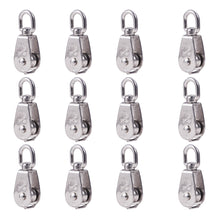 Load image into Gallery viewer, 12 Packs M15 Wire Rope Crane Pulley Block-INC-HW13-183