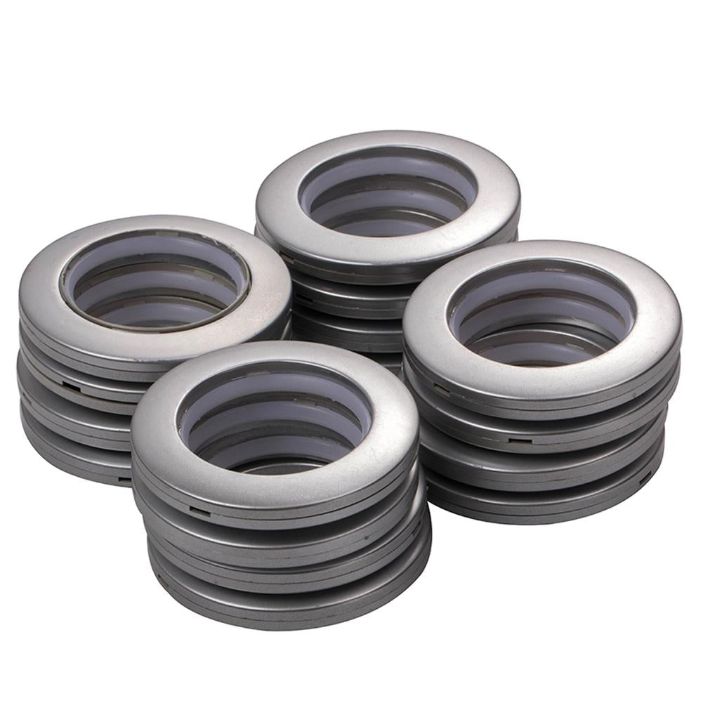 16Pcs ABS Plastic Low Noise Curtain Grommets-INC-HW18-073