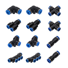 Load image into Gallery viewer, 12 Pcs 6mm Air Push Quick Fittings Kit-INC-HW18-022