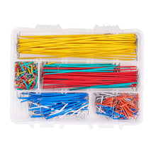 Load image into Gallery viewer, 560 Pcs Preformed Breadboard Jumper Wire Kit with Free Box-INC-HW13-180