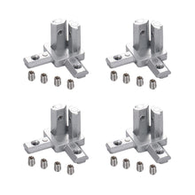 Load image into Gallery viewer, 8-Pack 3-Way End Corner Bracket Connector-INC-HW18-076