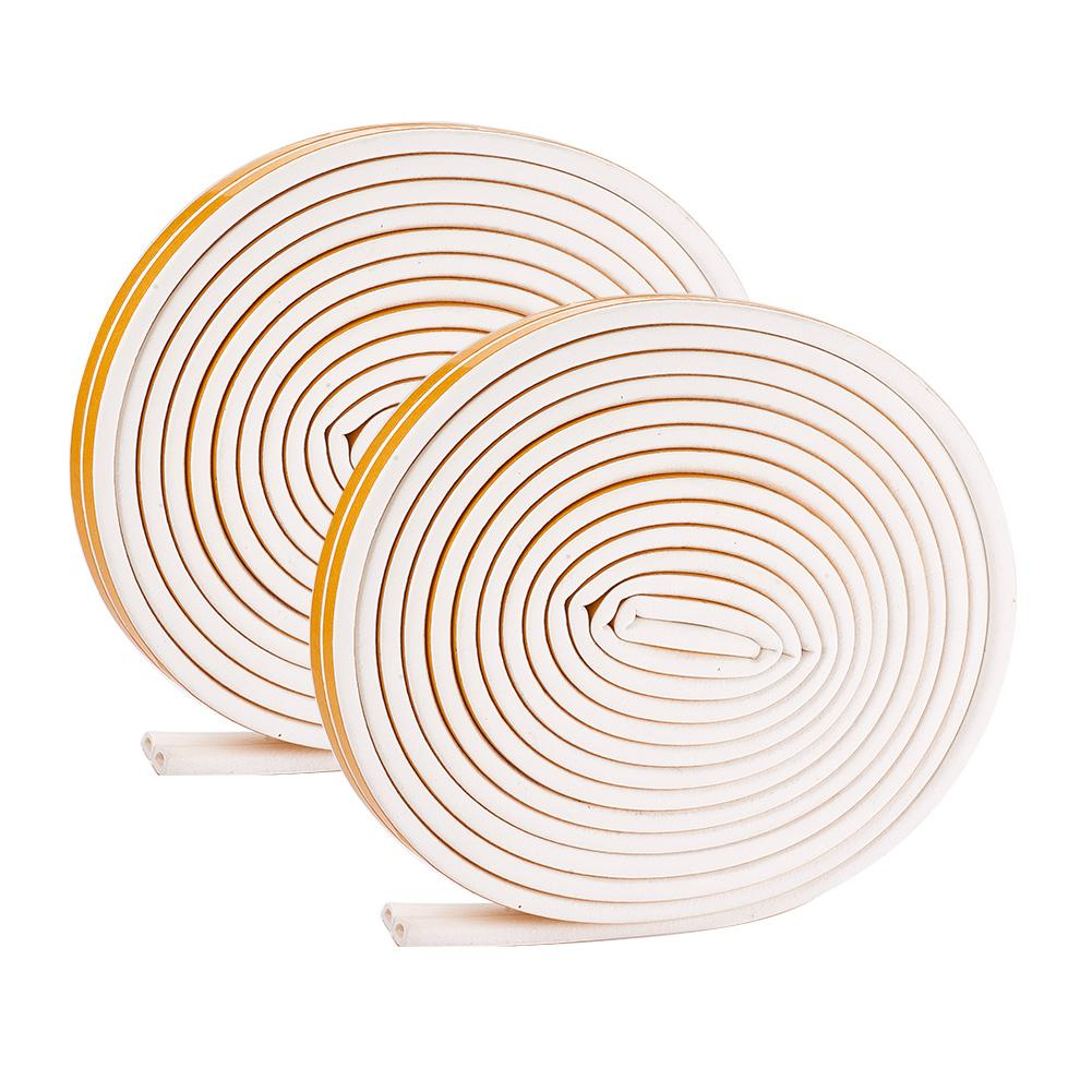 20-Meter White Seal Strip for Doors and Windows-INC-HW07-101