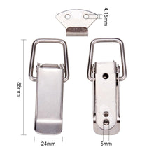 Load image into Gallery viewer, 4 Set Stainless Steel Spring Loaded Draw Toggle Latch-INC-HW13-016