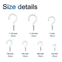 Load image into Gallery viewer, 12 Pcs  Curtain Hooks for Bathroom Shower Rod-INC-HW05-140