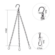 Load image into Gallery viewer, 8-Pack 14-Inch Hanging Chains with Hooks-INC-HW13-200